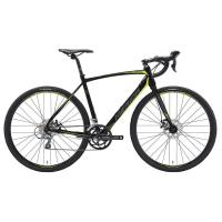 Велосипед Merida CycloCross 90 MattBlack/DarkSilver/Yellow 2019 SM(52cm)